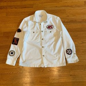 Urban Outfiitters shirt/jacket with Patches